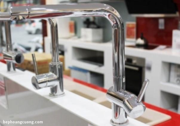 Hình ảnh thực tế vòi rửaTEKA ELAN MW tại Hệ thống Bếp Hoàng Cương