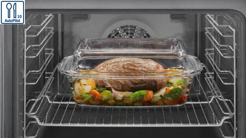 Lònướng Bosch HBA5570S0B với10 công thức nấu ăn tự động