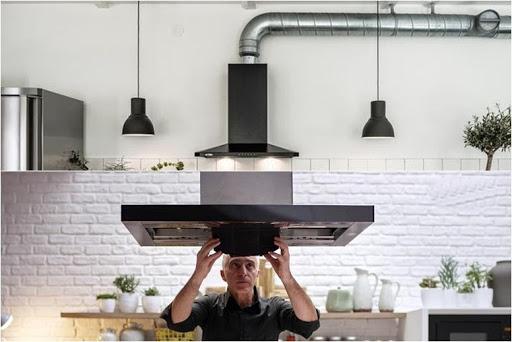Một chiếc máy phù hợp sẽ đạt hiệu quả làm sạch không khí và tạo không gian bếp sang trọng