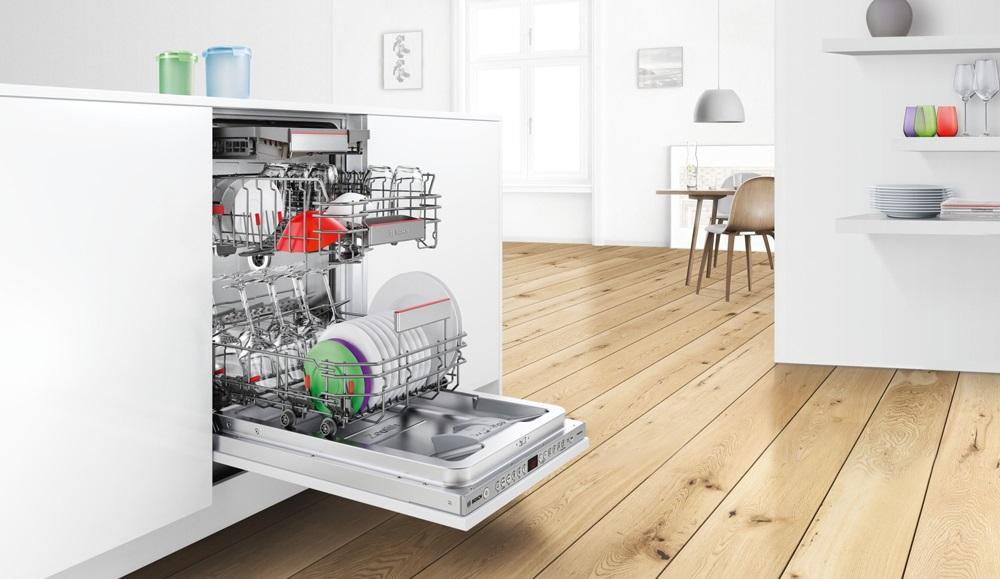 Máy rửa bát hoạt động vô cùng yên tĩnh, ngay cả khi sử dụng vào ban đêm