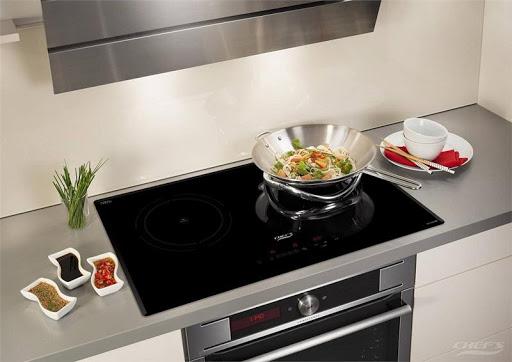 Mặt kính Crystallite được sử dụng cho bếp từ