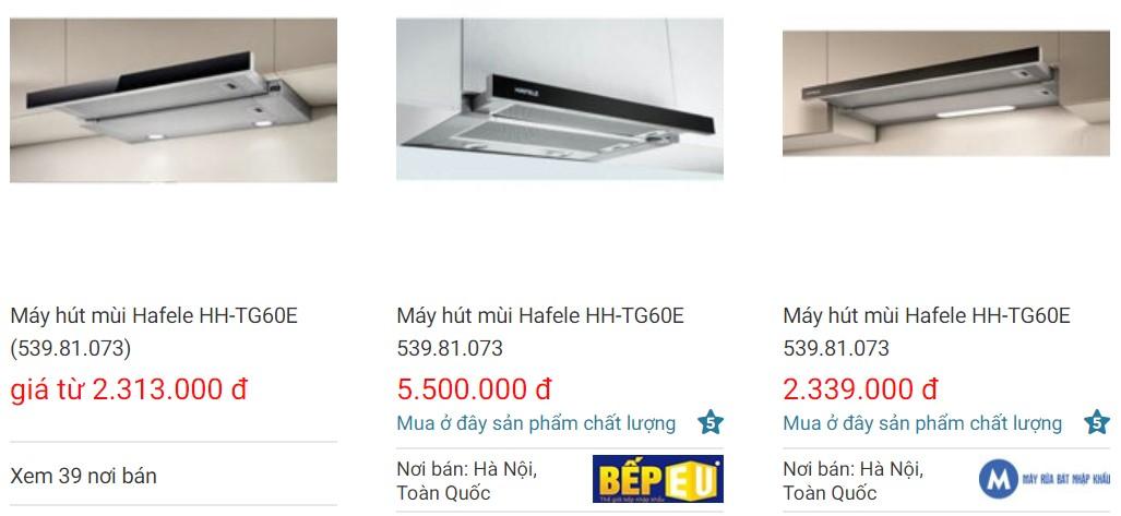 Giá bánmáy hút mùiHafele HC-I772A 536.01.695 trên websosanh