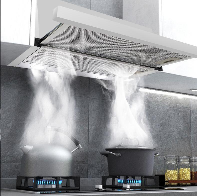 Máy hút mùi âm tủ có thiết kế gọn nhẹ, công suất ổn định, giá thành rẻ