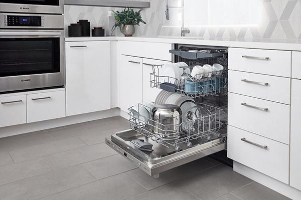 Một số thương hiệu máy rửa bát nổi tiếng như Bosch, Teka