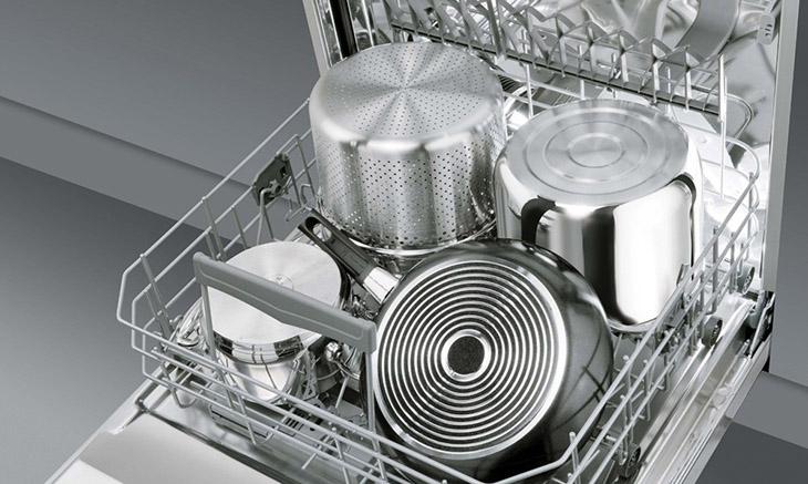 Vùng rửa chuyên dụng của máy rửa bát dành cho xoong, nồi