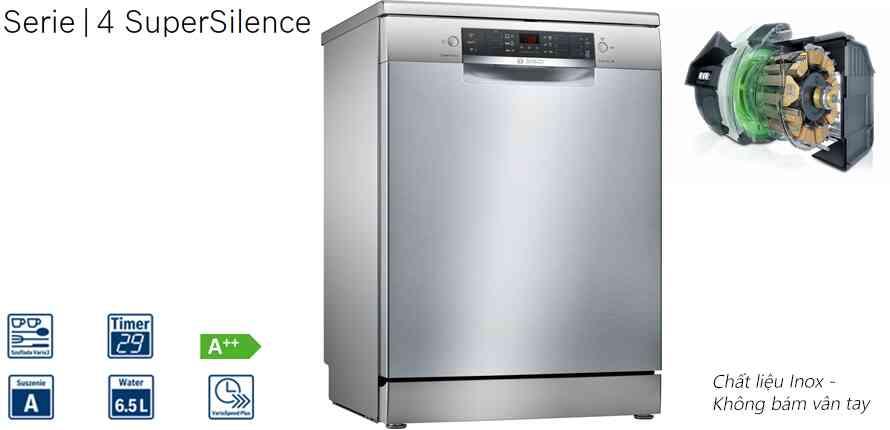 Máy rửa bát độc lập Bosch SMS46MI05E
