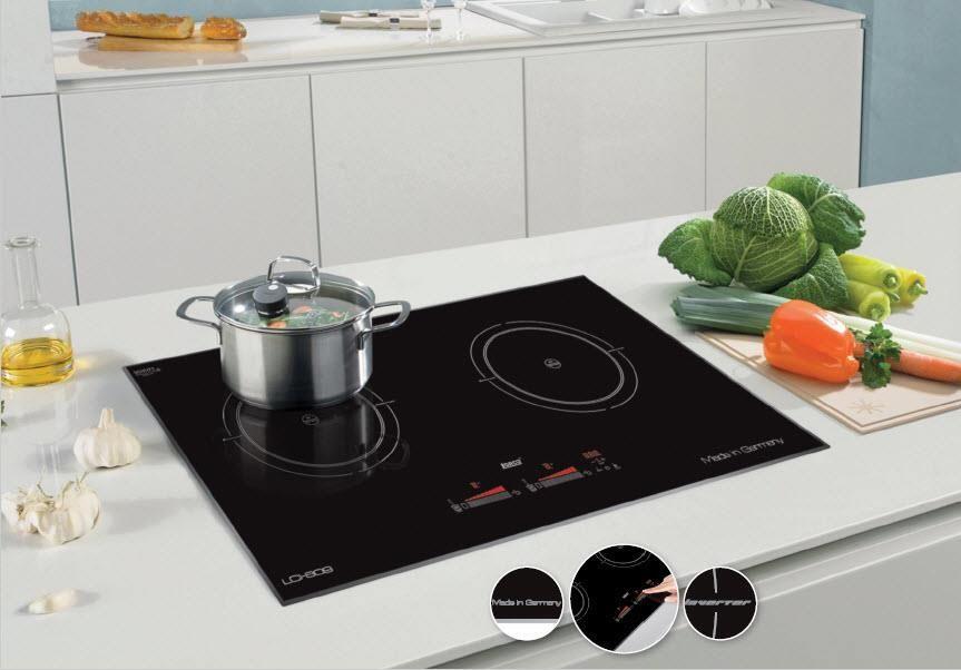Bếp từ sinh nhiệt nhanh trong thời gian ngắn giúp rau xanh hơn