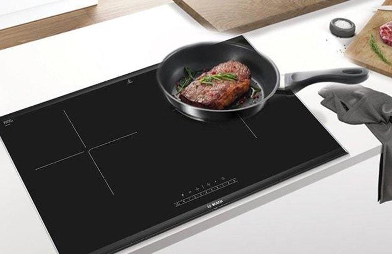 Bếp từ Bosch PPI82560MS được thiết kế sang trọng cùng nhiều tính năng thông minh