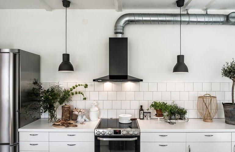 Máy hút mùi trả lại không gian bếp thoáng đãng, sạch mùi thức ăn