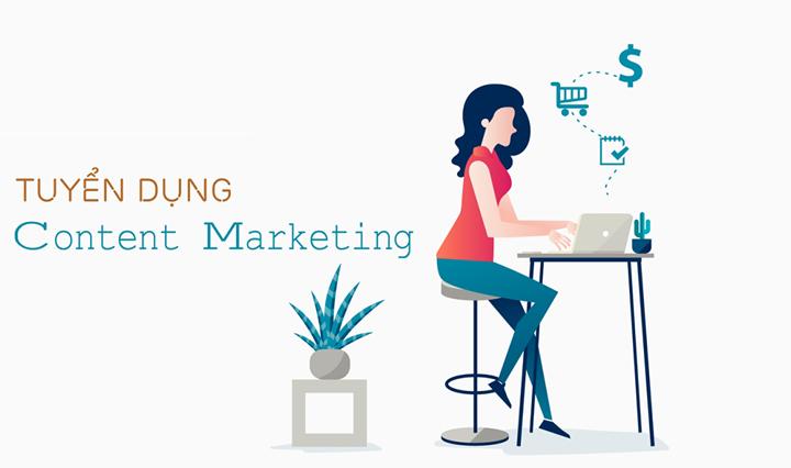 Tuyển nhân viên Content Marketing - Lương 12tr + % doanh số