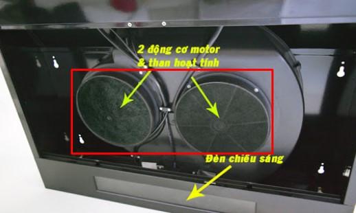 Thay bộ lọc than hoạt tính cho máy hút mùi