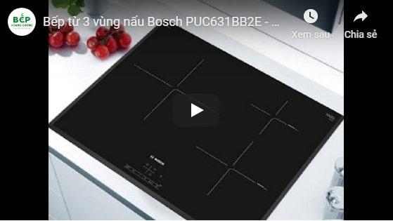 Video giới thiệu bếp từBosch PUC631BB2E