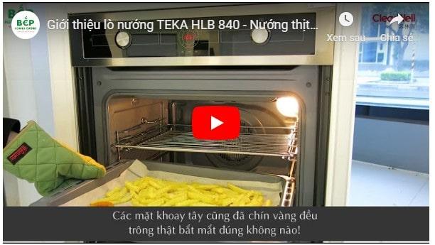 Video giới thiệu lò nướng TEKA HLB 840
