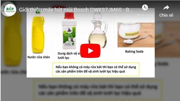 Video giới thiệu máy hút mùiBosch DWK97JM60