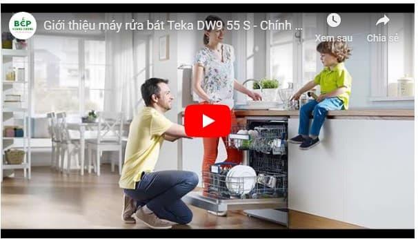 Video giới thiệu máy rửa bát Teka DW9 55 S