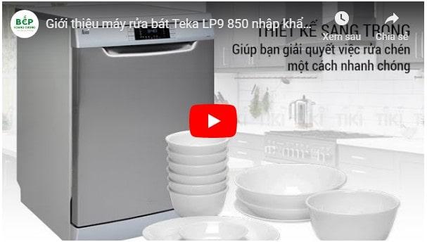 Video giới thiệu máy rửa bátTeka LP9 850