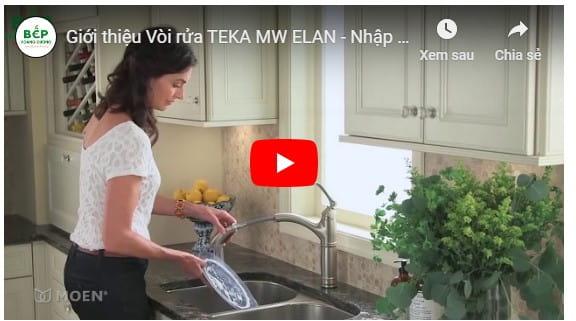 VideoGiới thiệu Vòi rửa TEKA ELANMW