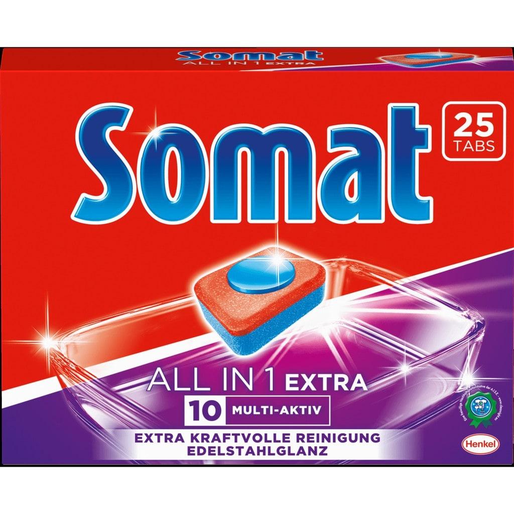 Hộp viên rửa Somat 25 viên của Đức dành cho máy rửa bát