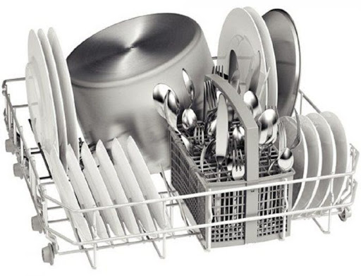 Sắp xếp dụng cụ đúng cách sẽ giúp nâng cao tuổi thọ của máy rửa bát
