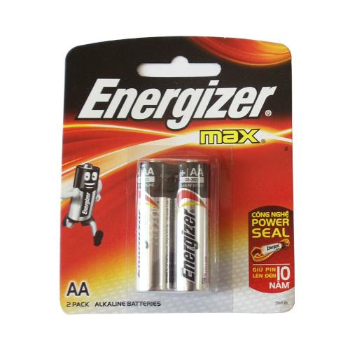 Sử dụng pin kiềmenergizer có điện áp 1.5V cho khóa cửa mật mã