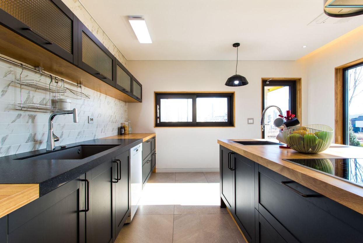 Căn bếp nhà bạn trở nênnổi bật hơn khi được thiết kế theo phong cách Galley