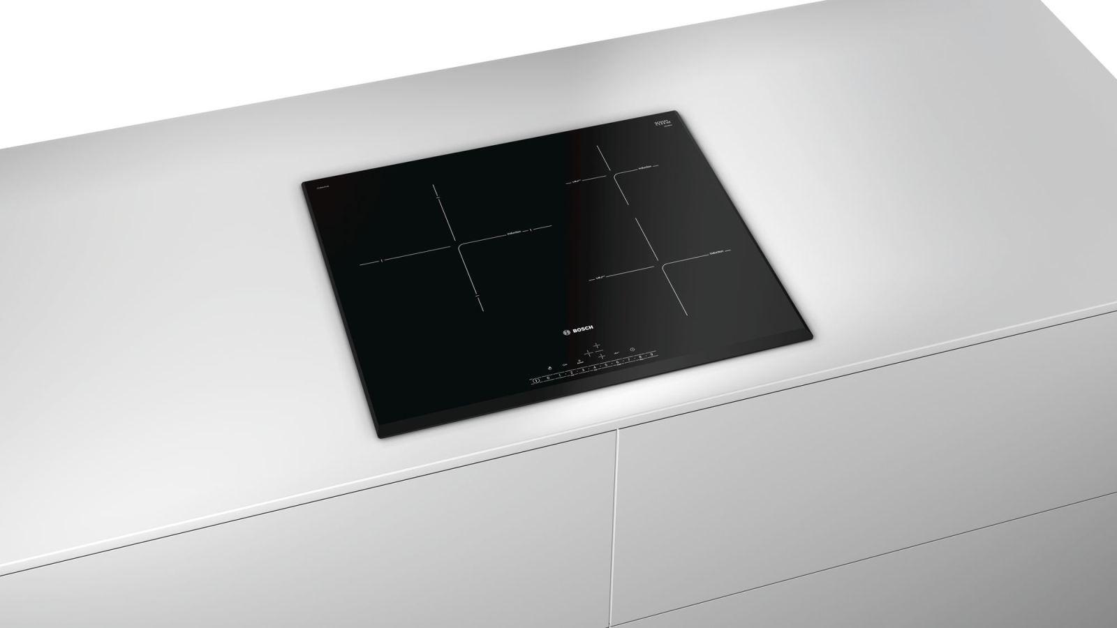 Bếp từ Bosch PIJ651FC1E thiết kế sang trọng, hiện đại