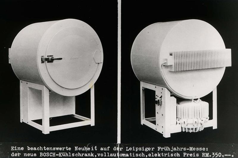 Tủ lạnh Bosch đầu tiên được thiết kế dạng ống tròn