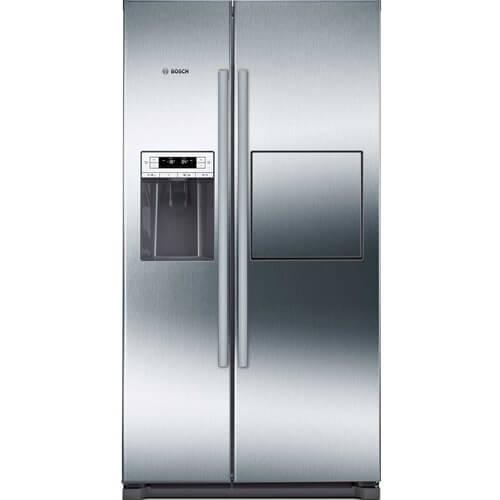 Tủ lạnh Bosch KAG90AI20G vớivỏ được làm từ thép không gỉcó màu chrome sang trọng, đẹp mắt