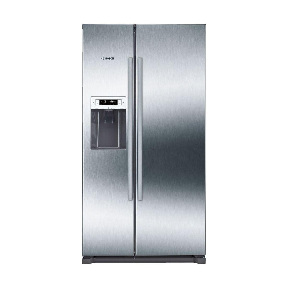Tủ lạnh Bosch KAD90VI20 được thiết kế theo tiêu chuẩn châu Âu màu sáng trắng với kích thước khá lớn