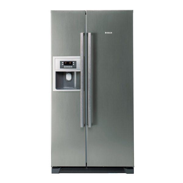 Tủ lạnh hai cánh Bosch KAN58A75 được làm từ thép chống gỉ nên sản phẩm có độ bền vượt trội, dễ dàng lau chùi bụi bẩn bám lên